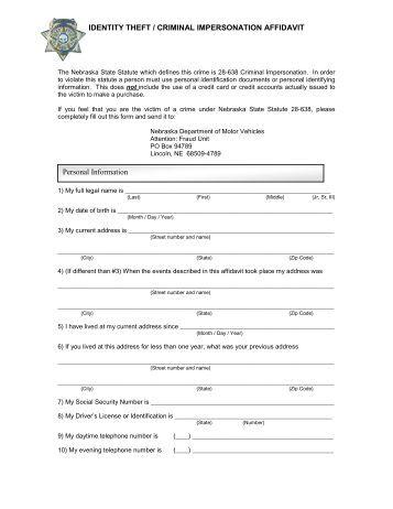 Application For Specialty Plates Nebraska Official