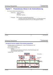 Kapitel 7: Prozessbusse, Busse in der Automatisierung