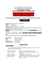 PROPOZYCJE GP KOCIEWIA 2012 - Zabookuj.eu