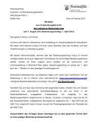 Merkblatt RS PLUS_01 02 13 - Aufsichts - in Rheinland-Pfalz