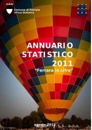 Annuario Statistico 2011 testo completo - Comune di Ferrara