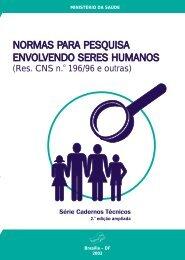 Normas para Pesquisas com seres humanos.pdf - Nhu.ufms.br