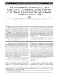Excess Mortality, Hospital Stay, and Cost Due to Candidemia: A ... - Page 2