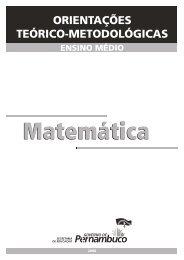 Matemática   Ensino Médio - Secretaria de Educação de Pernambuco