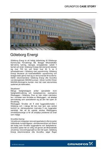 Göteborg Energi - Grundfos AB
