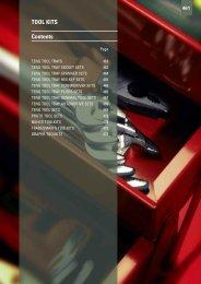 TOOL KITS Contents - Gibb Tools