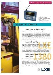 LXE 1380 RF COMPUTER - Delfi
