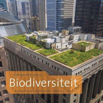 cahier Biodiversiteit - Biomaatschappij
