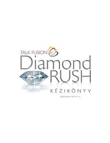 """Diamond Rush"" Kézikönyv - Talk Fusion"