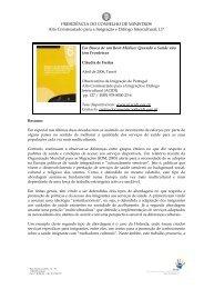 Resumo Tese 6 - Observatório da Imigração - Acidi
