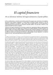 El capital financiero III