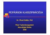 Fejfájások klasszifikációja 2008 [Kompatibilitási mód]
