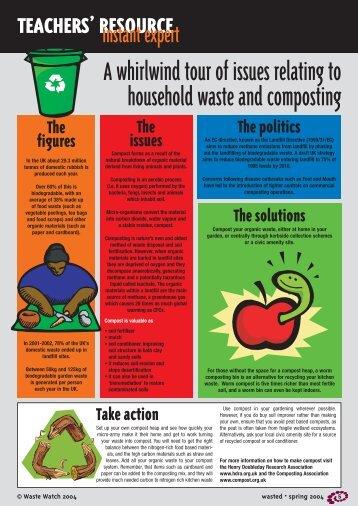 organic waste - pdf 1mb - Recyclezone