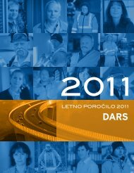 LETNO POROČILO 2011 - Dars