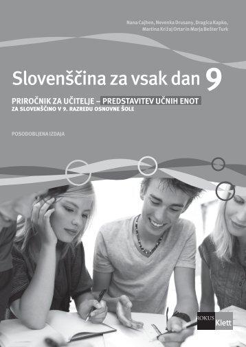 Slovenščina za vsak dan 9 (posodobljena izdaja 2011) - priročnik za ...