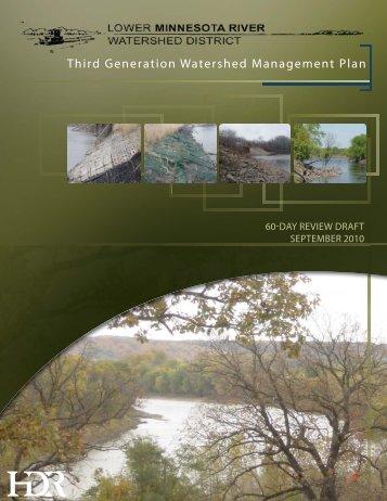 Third Generation Watershed Management Plan - Lower Minnesota ...