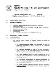 Commission Agenda Report - MLive.com