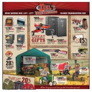 closed thanksgiving day - Del's - Feed And Farm Supply