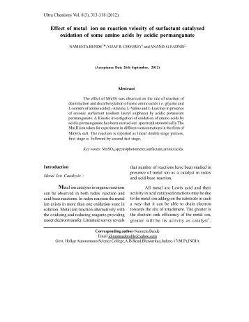Inorganic Chemistry II