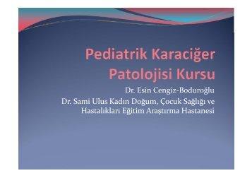 Dr. Esin Cengiz‐Boduroğlu Dr. Sami Ulus Kadın Doğum, Çocuk ...