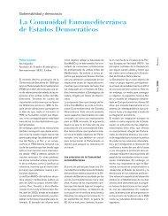 La Comunidad Euromediterránea de Estados Democráticos - IEMed