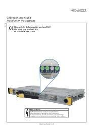 Elektronische Sicherungsüberwachung ES09