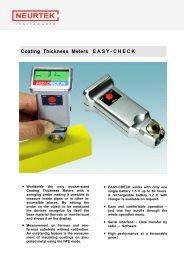 Coating Thickness Meters EASY-CHECK - Neurtek