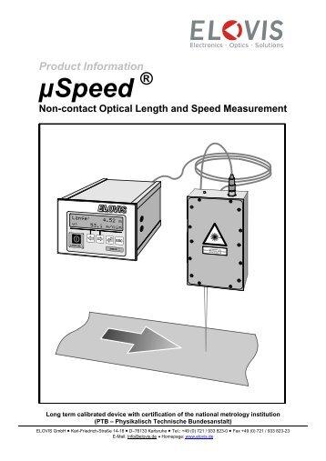 Sensor Head - Elovis GmbH