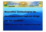 Nouvelles technologies de développement logiciel ... - Page d'accueil