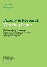 Faculty & Research Working Paper - IPCRC.NET