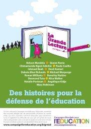 La Grande Lecture - Global Campaign for Education