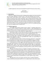 A hybrid approach to interseasonal precipitation prediction ... - IMAGe