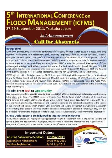 FLOOD MANAGEMENT (ICFM5) - (IFI)-Home Page