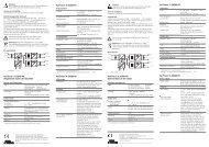 VariTrans® A 20300 P0: Allgemeine Daten der ... - Knick USA