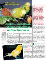 Der Artikel als PDF - Birds Online