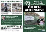 2012 Election Leaflet - Sheffield Green Party