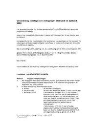 Verordening toeslagen en verlagingen Wet werk en bijstand 2008