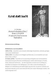Vortrag Prof. Dr. Harald Gruber - Suchtinfo Oberpfalz