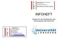 Infoheft VLWN-Uni Lüneburg - Fotos