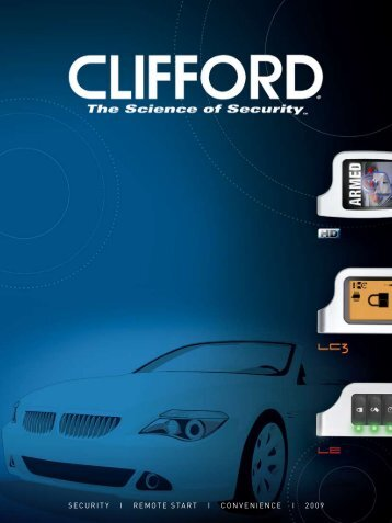 Brochure Clifford - CLIFFORD Electronics Benelux