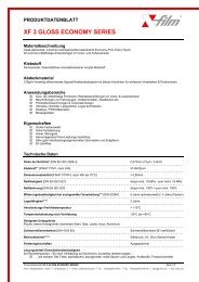 XF 3 GLOSS ECONOMY SERIES -