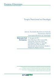 Terapia Nutricional na Oncologia - Projeto Diretrizes