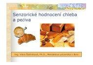 Senzorické hodnocení chleba a pečiva