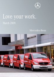 Love your work. - Mercedes-Benz