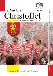 Christoffel Nr. 25, 4. Quartal 2013 - und Crosslauf in Varlosen