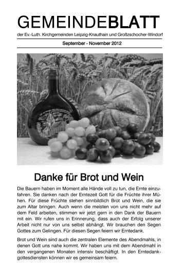 Gemeindeblatt von September 2012 - Apostelkirche Leipzig ...