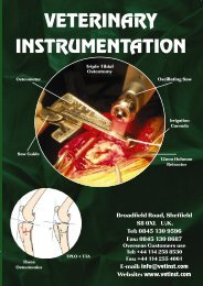1 joint surgery - Veterinary Instrumentation