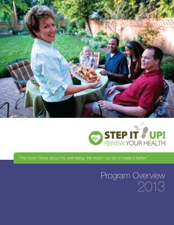2013 Renew Your Health Program Overview