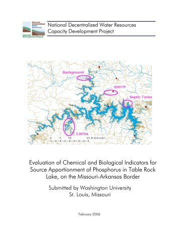 Final Report - Decentralized Water Resources Collaborative