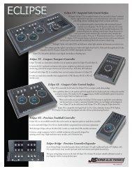 JLCooper Eclipse Midnight Range Brochure - PDF - Aspen Media.